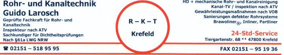 Bild zu R-K-T Rohr- und Kanaltechnik in Krefeld