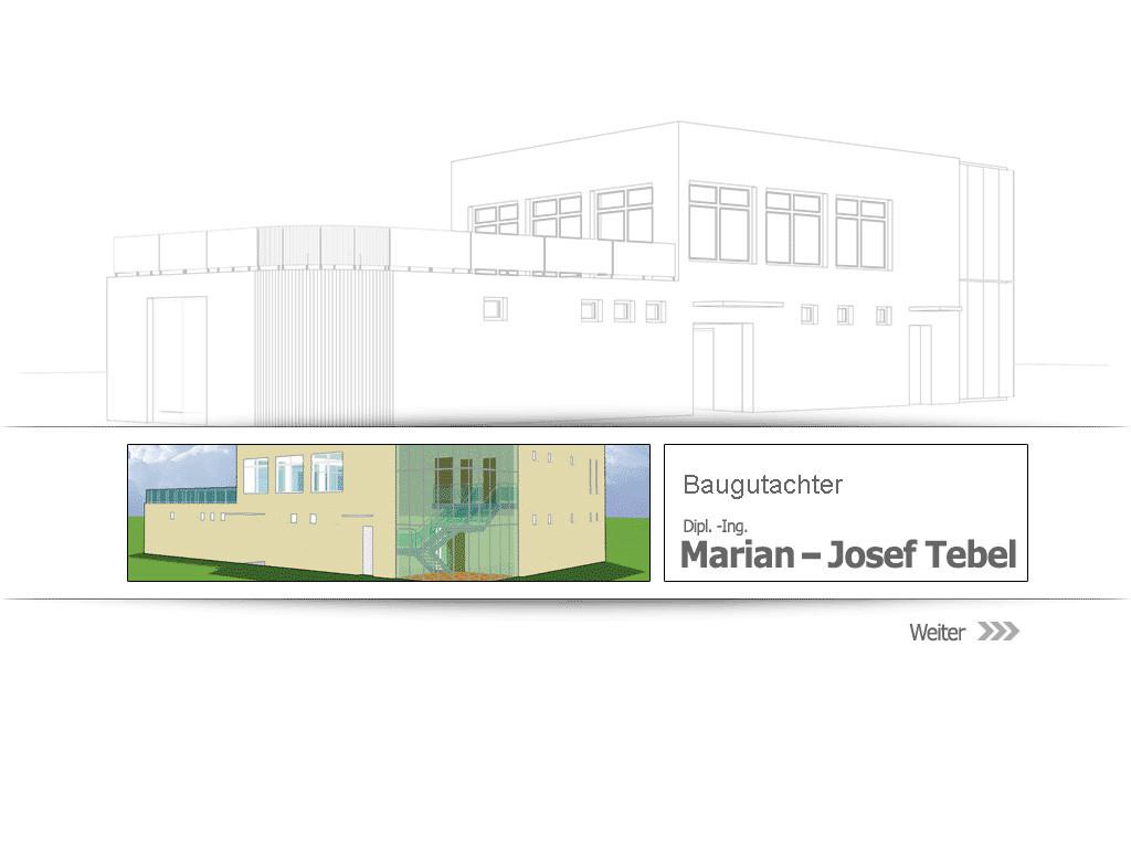 Bild zu Dipl.-Ing. Marian J. Tebel Architekt in Berlin