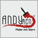 Logo von Andymen GmbH - Maler mit Stern