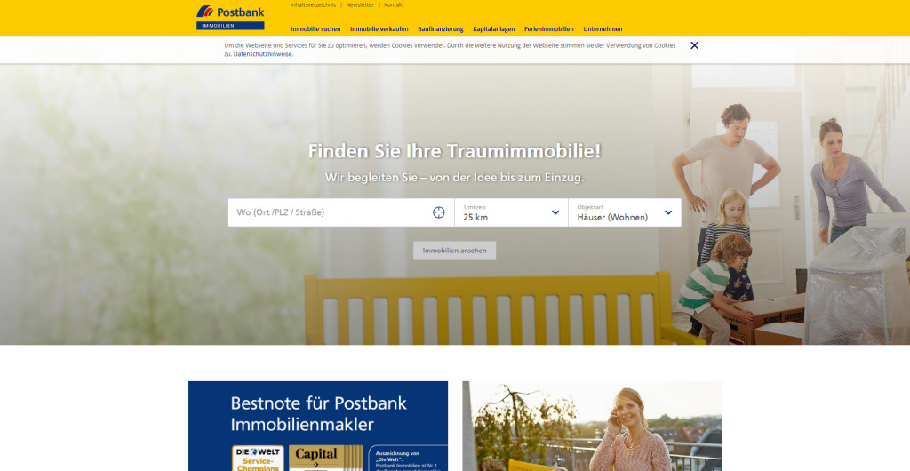 Postbank Immobilien GmbH Rut Schrader in 37154, Northeim