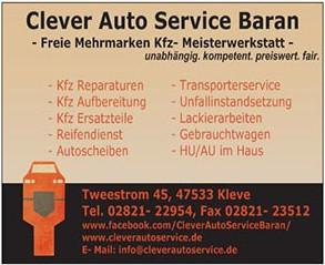 Bild zu Clever Auto Service Baran in Kleve am Niederrhein