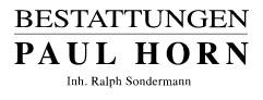 Bild zu Bestattungen Paul Horn e.K. Inh. Ralph Sondermann in Wuppertal