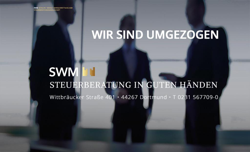Bild zu SWM Schulte Wahle Marquardt PartG mbB Steuerberatungsgesellschaft in Dortmund