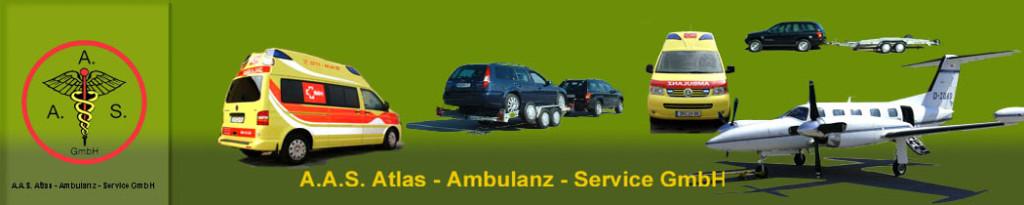 Logo von A.A.S.-Atlas Ambulanz-Service GmbH
