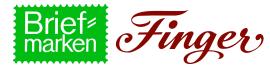 Firmenlogo: Briefmarken Finger