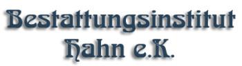 Bild zu Bestattungsinstitut Hahn e.K. in Neustadt an der Orla