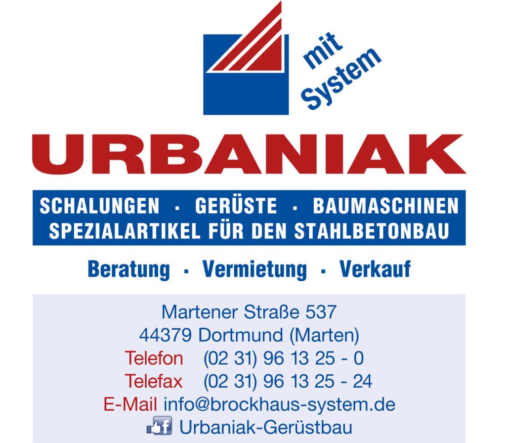 Bild zu Urbaniak Schalungen,Gerüste und Gerüstbau in Dortmund