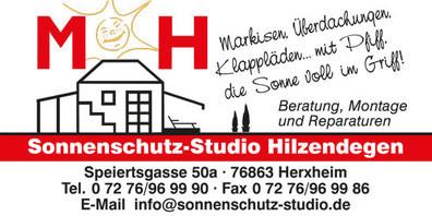 Bild zu Sonnenschutz-Studio Hilzendegen in Herxheim bei Landau in der Pfalz