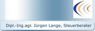 Firmenlogo: Dipl.-Ing.agr. Jürgen Lange, Steuerberater