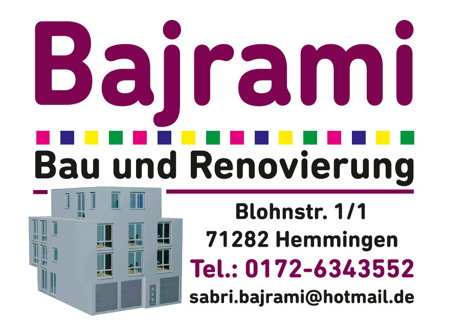 Bild zu Bajrami Bau und Renovierung in Hemmingen in Württemberg