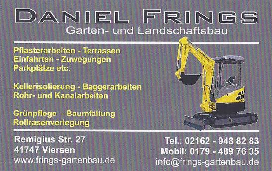 Bild zu Daniel Frings Garten und Landschaftsbau in Viersen