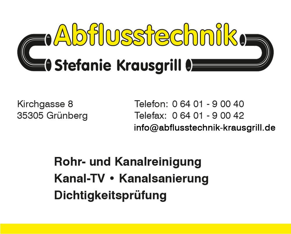 Bild zu Abflusstechnik Stefanie Krausgrill in Grünberg in Hessen