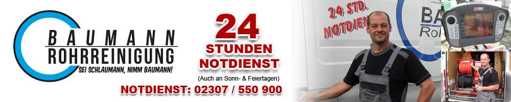 Logo von Rohrreinigung Baumann GmbH