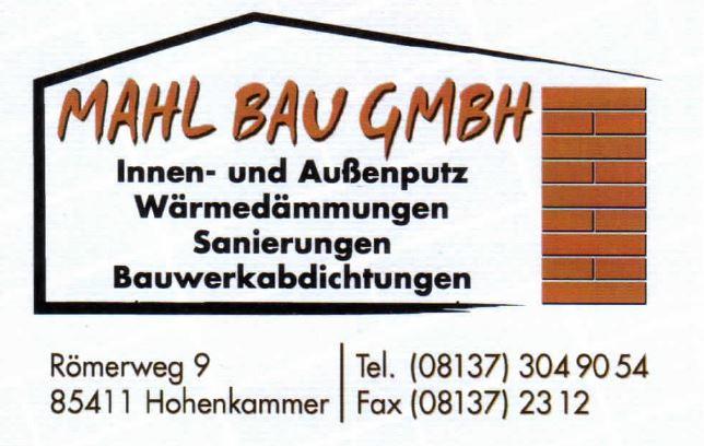 Bild zu Manfred Mahl Bauunternehmen GmbH in Hohenkammer