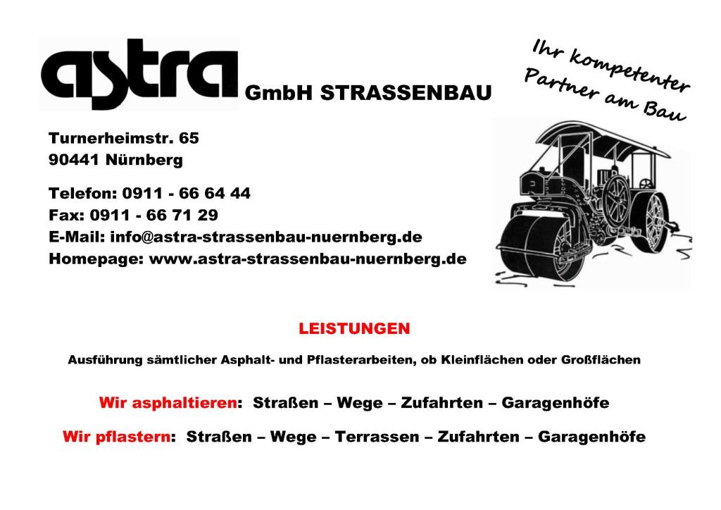 Bild zu Astra GmbH Straßenbau in Nürnberg