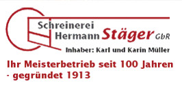 Logo von Schreinerei Hermann Stäger GbR Inh. Karl u. Karin Müller