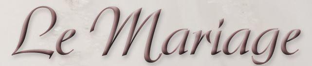 Logo von Le Mariage Hochzeitsstudio