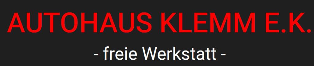 Logo von Autohaus Klemm