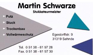 Bild zu Martin Schwarze Stukkateurmeister in Sehnde