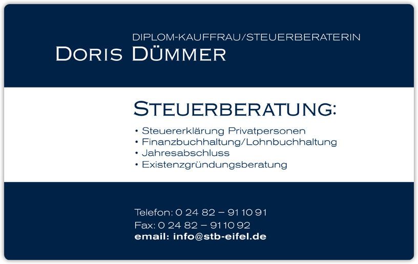 Logo von Doris Dümmer Steuerberaterin
