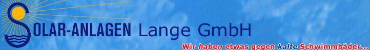 Bild zu Solaranlagen Lange GmbH in Münster