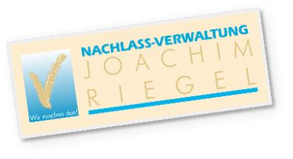 Bild zu Nachlass-Verwaltung Joachim Riegel in Darmstadt