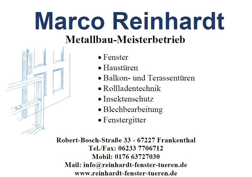 Bild zu Fenster · Türen · Meisterbetrieb - Marco Reinhardt in Beindersheim