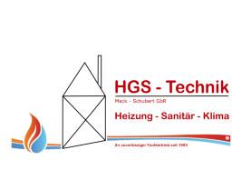Bild zu HGS-Technik Mack-Schubert GbR in Bad Homburg vor der Höhe