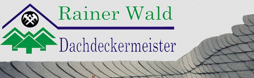 Dachdeckermeister Rainer Wald