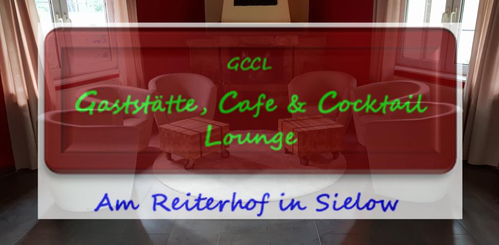 Logo von Gaststätte, Cafe & Cocktail Lounge - Am Reiterhof in Sielow