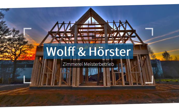 Bild zu Zimmerei Wolff und Hörster in Horst in Holstein