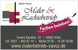 Bild zu Malerbetrieb Yavuz in Köln