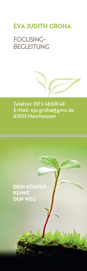 Bild zu Groha, Eva Judith Focusingbegleitung in Mainhausen
