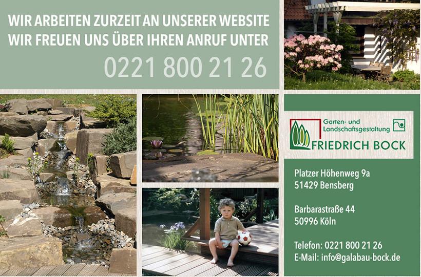 Bild zu Gartengestaltung Friedrich Bock in Bergisch Gladbach
