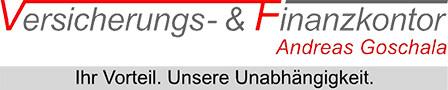Logo von Andreas Goschala Versicherungen und Immobilien