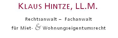 Bild zu Rechtsanwalt Klaus Hintze in Wiesbaden