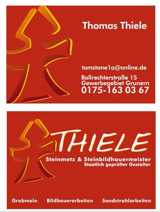 Bild zu Thiele Steinmetzmeister in Staufen im Breisgau