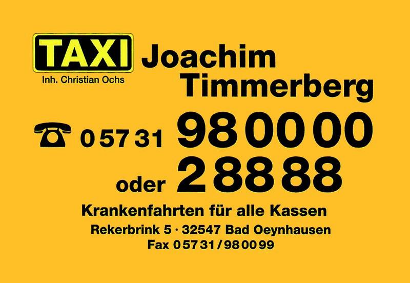 Logo von Joachim Timmerberg Funktaxen und Krankentransport