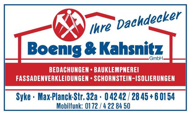Bild zu Boenig & Kahsnitz GmbH in Syke