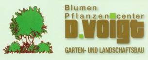 Firmenlogo: Blumen u. Pflanzencenter  D. Voigt