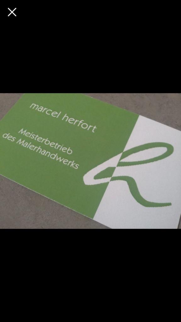Bild zu Marcel Herfort Meisterbetrieb des Malerhandwerks in Mechernich