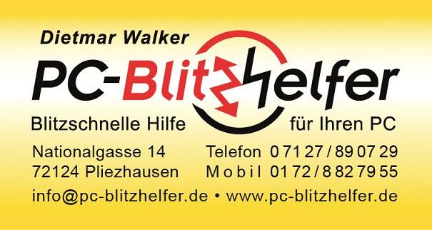 Bild zu PC-Blitzhelfer Dietmar Walker in Pliezhausen