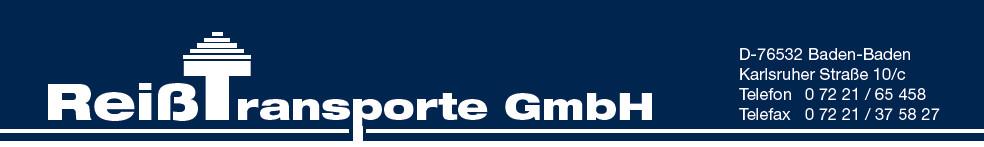 Logo von Reiß Transporte GmbH