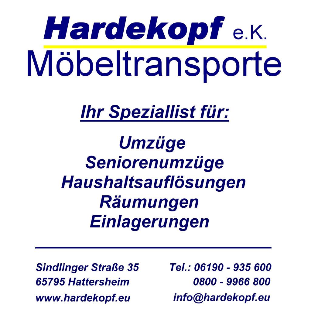 Bild zu Hardekopf e.K.- Möbeltransporte in Hattersheim am Main