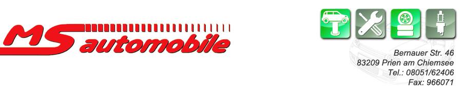 Logo von MS Automobile Markus Stadler