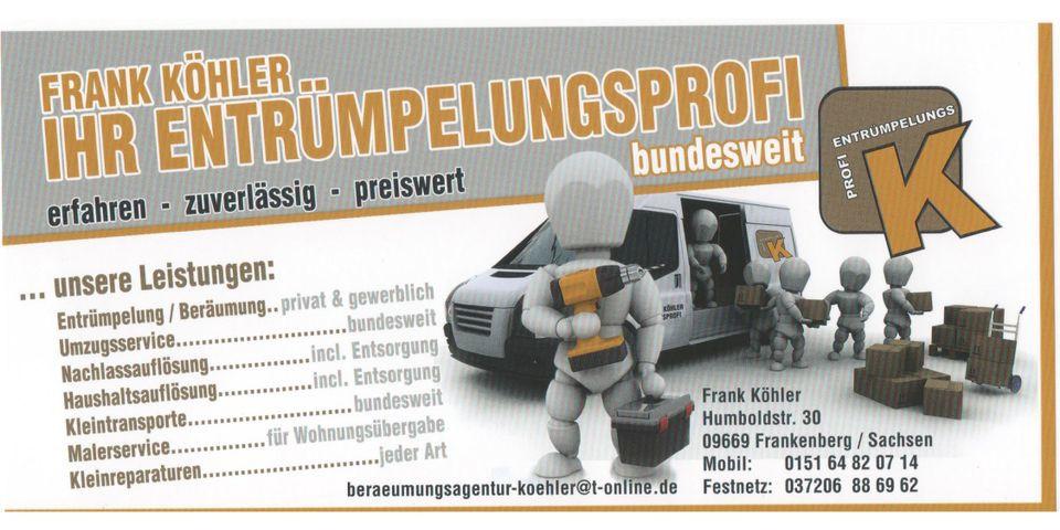 Bild zu Transport-Recycling-Unternehmen Frank Köhler in Frankenberg in Sachsen