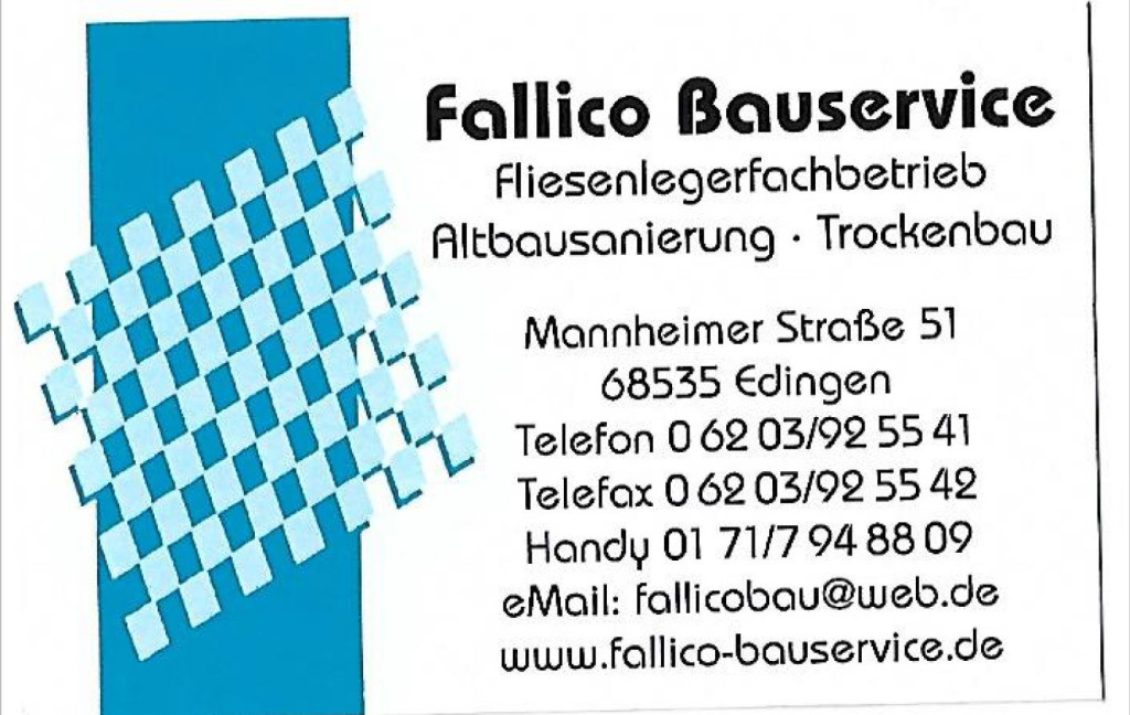 Bild zu Fallico Bauservice in Edingen Neckarhausen