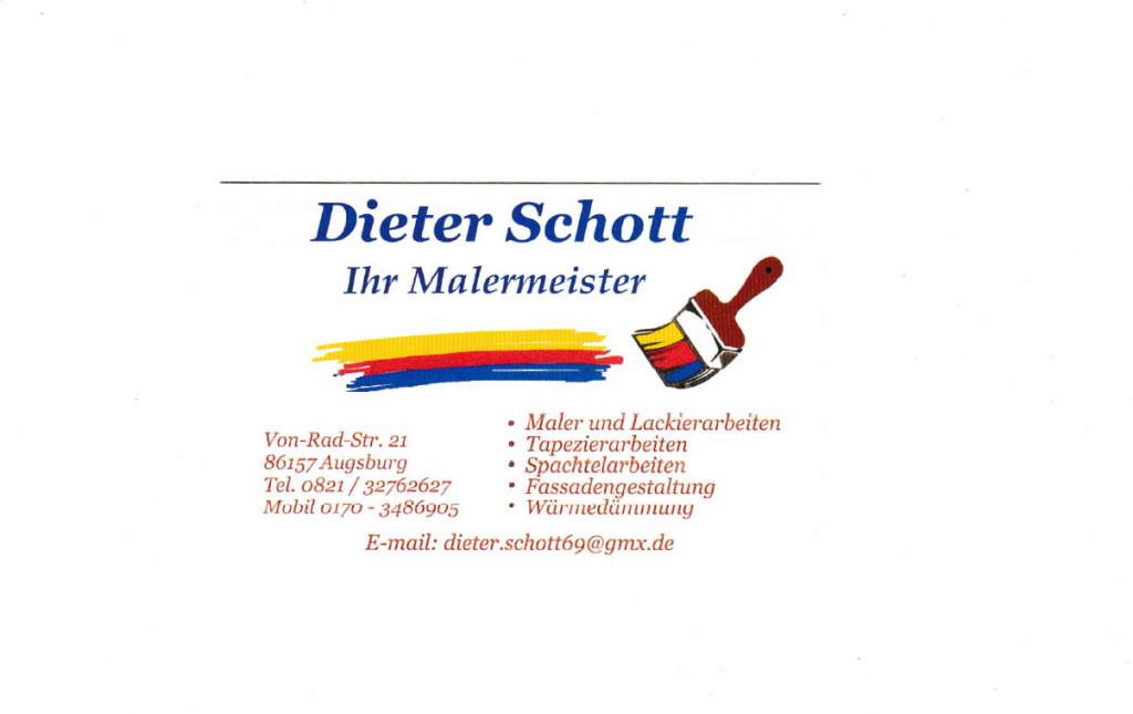 Bild zu Malerbetrieb Dieter Schott in Augsburg