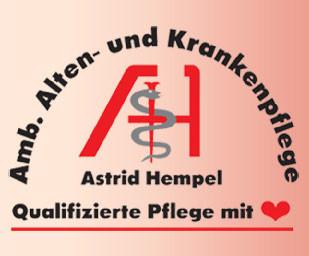 Logo von Alten- und Krankenpflege Hempel