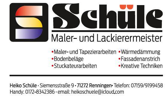 Bild zu Malerbetrieb Schüle in Renningen